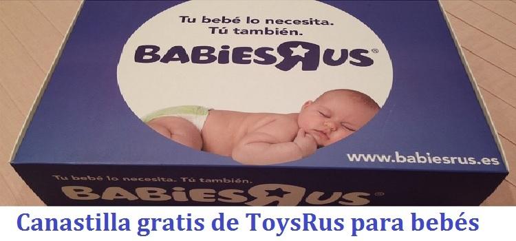 Canastilla Toysrus para embarazadas