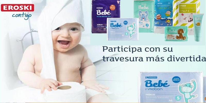 Canastilla bebé Eroski